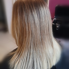 ombré hair miel cheveux longs